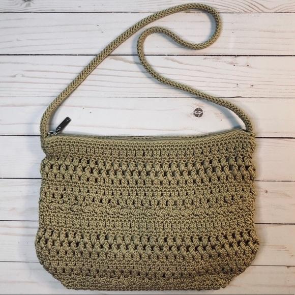 The Sak Handbags - Crochet Bohemian Purse Shoulder Bag by The Sak